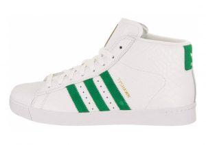 Adidas Pro Model Vulc ADV Bianco/Verde (Ftwbla / Verde / Ftwbla)
