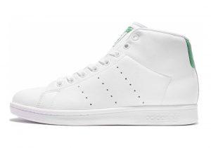 Adidas Stan Smith Mid Bianco (Ftwbla/Ftwbla/Verde)
