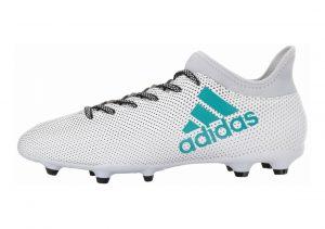 Adidas X 17.3 Firm Ground Blue (Footwear White/Energy Blue/Clear Grey)