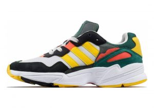 Adidas Falcon Grey One / Bold Gold-solar Red