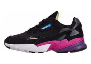 Adidas Falcon Black/Black/Shock Pink