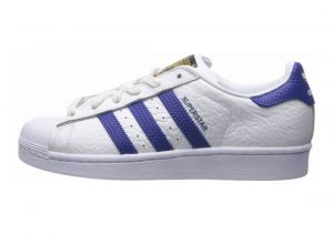 Adidas Superstar Animal Bianco (White (Ftwr White/Collegiate Royal/Gold Met.))