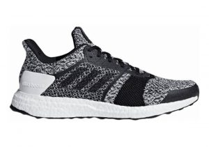 Adidas Ultra Boost ST White/Black/Silver Metallic