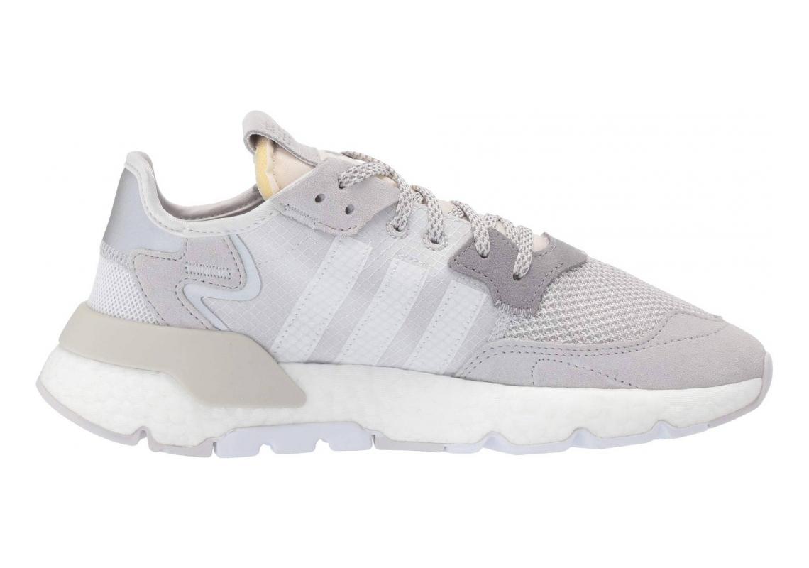 Adidas Nite Jogger Grey One F17/Crystal White/Grey Two F17