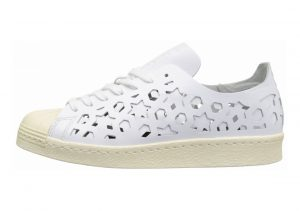 Adidas Superstar 80s Cutout White
