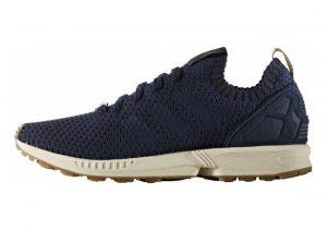 Adidas ZX Flux Primeknit Blue (Collegiate Navy/Collegiate Navy/Gum)