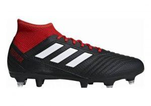 Adidas Predator 18.3 Soft Ground Black (Cblack/Ftwwht/Red Cblack/Ftwwht/Red)