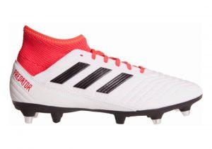 Adidas Predator 18.3 Soft Ground Bianco (Ftwwht/Cblack/Reacor Ftwwht/Cblack/Reacor)