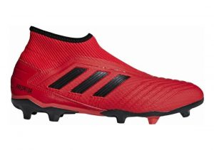 Adidas Predator 19.3 Laceless Firm Ground Red