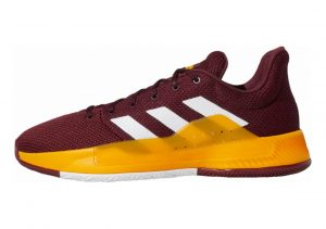 Adidas Pro Bounce Madness Low 2019 Maroon/White/Collegiate Burgundy