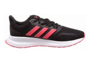 Adidas Runfalcon Nero (Core Black/Shock Red/Ftwr White Core Black/Shock Red/Ftwr White)