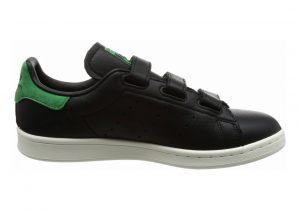 Adidas Stan Smith CF Black (Negbas / Negbas / Verde)