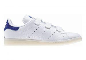 Adidas Stan Smith CF Blanco (Ftwbla / Ftwbla / Azufue)