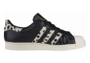 Adidas Superstar Animal core black/chalk white/gold metallic