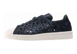 Adidas Superstar 80s Cutout Black (Core Black/Core Black/Off White)