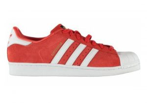 Adidas Superstar Suede Red