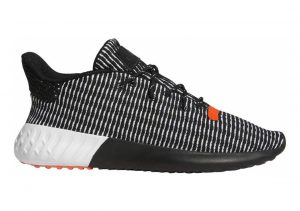 Adidas Tubular Dusk Primeknit Core Black/Cloud White/Solar Red