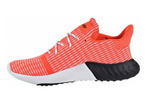 Adidas Tubular Dusk Primeknit Solar Red/Cloud White/Black