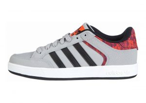 Adidas Varial Low Solid Grey / Core Black / Solar Red