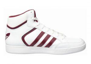 Adidas Varial Mid White/Burgundy/White