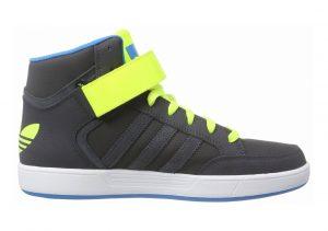Adidas Varial Mid Grey (Dgh Solid Grey/Solar Yellow/Solar Blue2 S14)