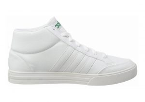 Adidas VS Set Mid White (Ftwwht/Crywht/Bgreen Ftwwht/Crywht/Bgreen)