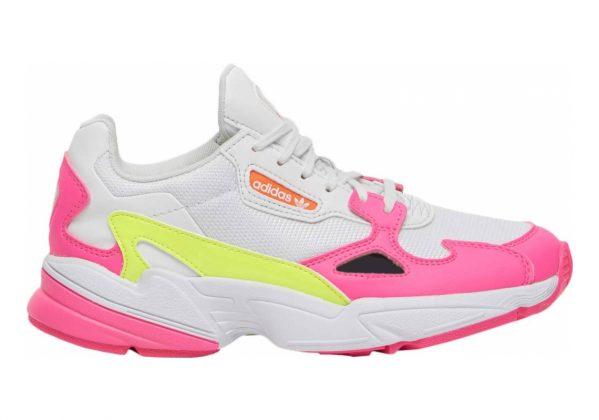 Adidas Falcon Shock Pink/Solar Yellow/Raw White