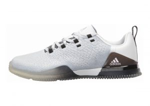 Adidas CrazyPower Trainer White/Vapour Grey/Clear Grey
