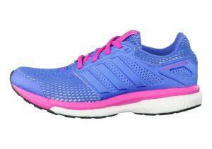 Adidas Supernova Glide Boost 8 Blu (Super Blue/Super Blue/Shock Pink)