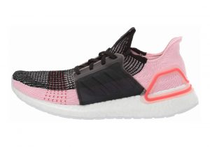 Adidas Ultra Boost 19 Black/Orchid Tint/Active Red