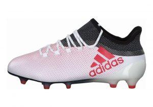 Adidas X 17.1 Firm Ground White/Red/Black