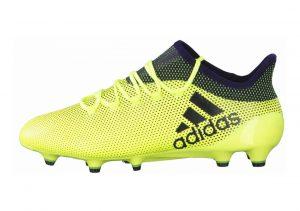 Adidas X 17.1 Firm Ground Yellow