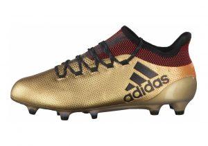 Adidas X 17.1 Firm Ground gold