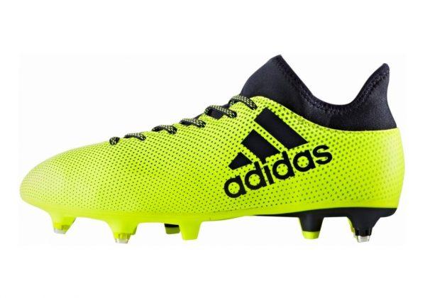 Adidas X 17.3 Soft Ground Multicolor (Solar Yellow/Legend Ink /Legend Ink )