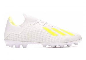 Adidas X 18.3 Artificial Grass  White