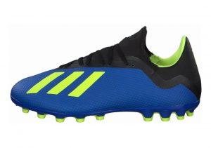 Adidas X 18.3 Artificial Grass  blau