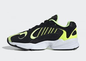 Adidas Yung-1 Black Frozen Yellow