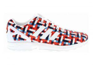 Adidas ZX Flux Woven Bleu / Rouge / Blanc