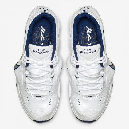 Nike Air Monarch IV Martine Rose White Navy