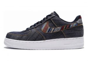 Nike Air Force 1 07 LV8 Blanco (White/University Red/Blue Void 106)