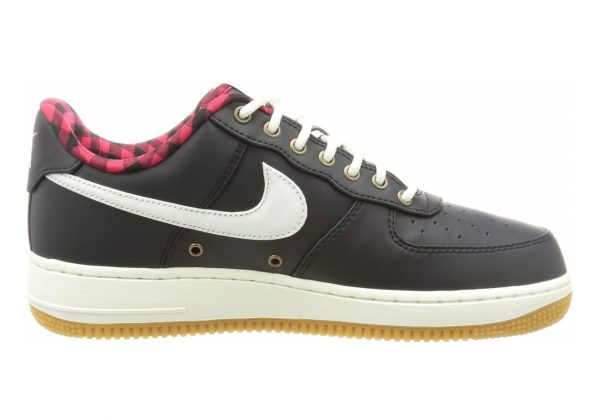 Nike Air Force 1 07 LV8 BLACK/SAIL-ACTION RED-GUM LIGH
