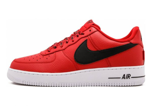 Nike Air Force 1 07 LV8 University Red/Black-white
