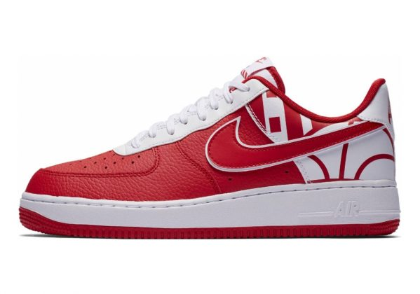Nike Air Force 1 07 LV8 University Red/University Red