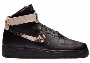 Nike Air Force 1 High Print Black/White-particle Beige