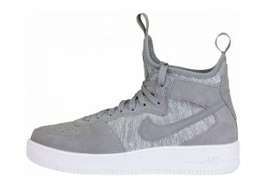 Nike Air Force 1 UltraForce Mid Premium Grey