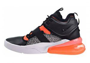 Nike Air Force 270 Black Hyper Crimson Wolf Grey 004
