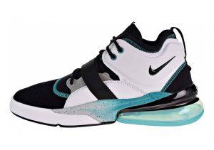 Nike Air Force 270 Black/White/Wolf Grey/Blue Emerald
