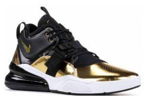 Nike Air Force 270 Metallic Gold, Black-white