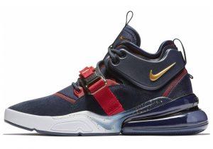 Nike Air Force 270 Obsidian / Metallic Gold-gym Red