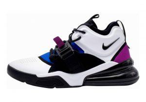 Nike Air Force 270 White/Black/Lyon Blue/Bold Berry